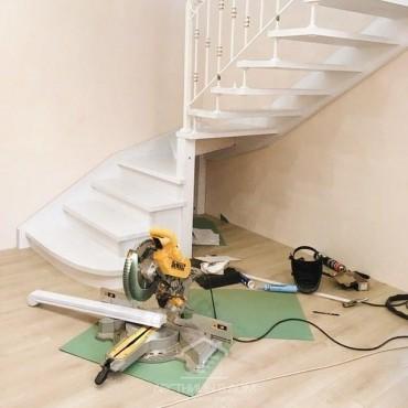 Фото обшивки лестниц 1